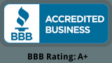 BBB Accredited Business BBB Rating: A+